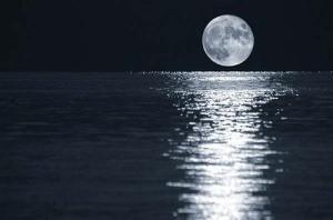 la estela de la luna